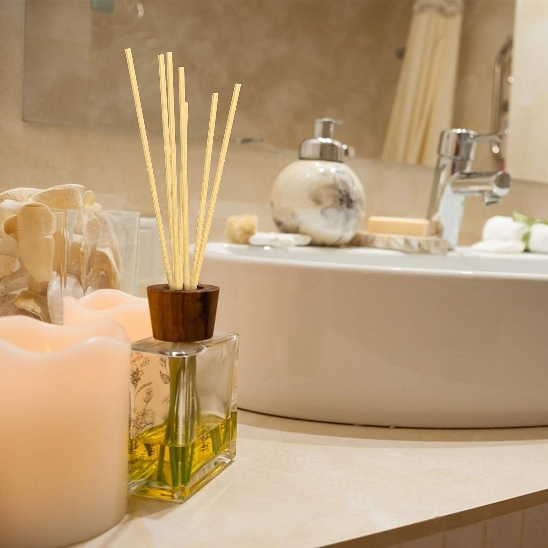 KATOOM 20 PCS Bâtons De Diffuseur,Roseau Diffuseur de Remplacement bâton  Bois Sticks,Diffuseur parfum Aroma Air frais pour Cuisine salle de bain