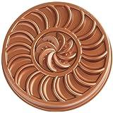Nordic Ware Spring & Summer Copper Collection Fruit Tartine Baking Pan, Bronze