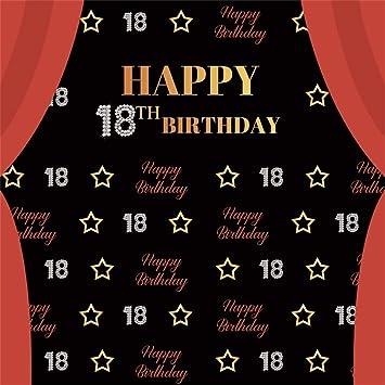 Amazon.com: AOFOTO - Telón de fondo de cumpleaños para ...