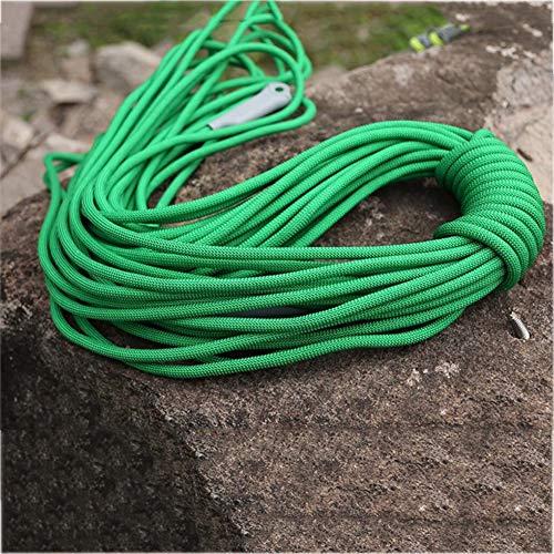 バラエティ隙間8ミリメートル/9.5ミリメートル直径無作為使用ホームローププロフェッショナルクライミングエイドロープラペリングアブセリングロープアウトドア8KN / 12KNエスケープ高抵抗ロープ (色 : Army Green, サイズ : Diameter 8 mm/30M)