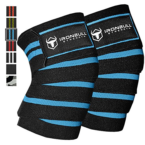 Knee Wraps Pair Weightlifting Powerlifting product image