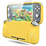 Protective Case Cover for Nintendo Switch Lite, OIVO Soft TPU Protective Grip Skin Cover for Nintendo Switch Lite- Glass…