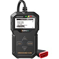 AstroAI Escáner Automotriz OBD2 Professional, Lector de Códigos Universal, Scaner para Auto Herramienta de Diagnóstico con Pantalla Luz