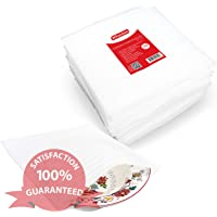 XFasten Cushion Foam Pouch as China, Dish Wrap and Glassware Packing Supply, 12-Inch by 12-Inch, Pack of 50, for Packing, Moving, Storage Cushioning Supplies for Moving