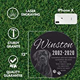 Lara Laser Works Personalized Dog Memorial with