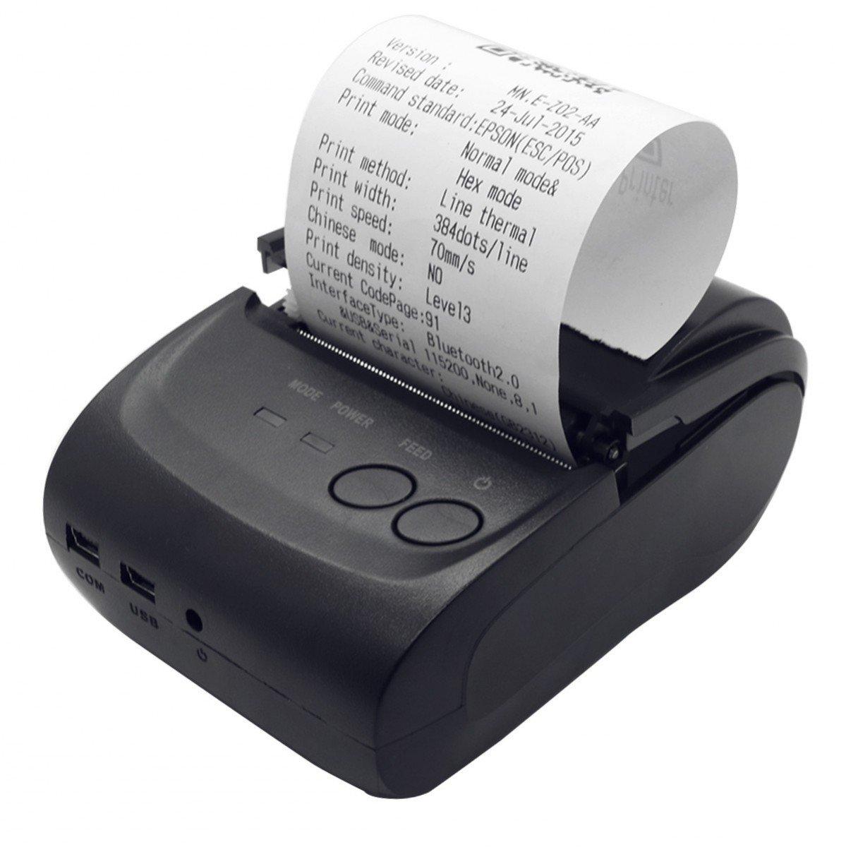 icablelink VOXLINK Mini Impresora Térmica Bluetooth de ...