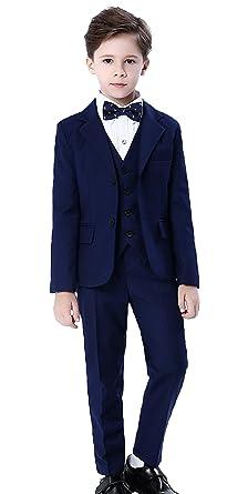 Cloud Kids Kinder Anzug Blau Jungen Festlicher Anzug Mit Jacke Hemd