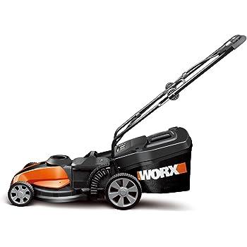 Amazon Com Worx Wg787 17 Inch 24 Volt Cordless Lawn
