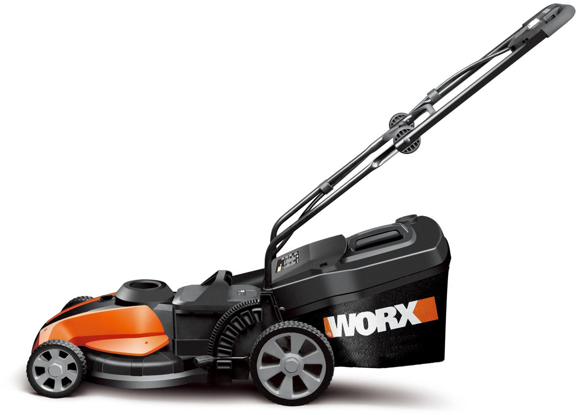 Worx 17 in. IntelliCut Cordless Lawn Mower