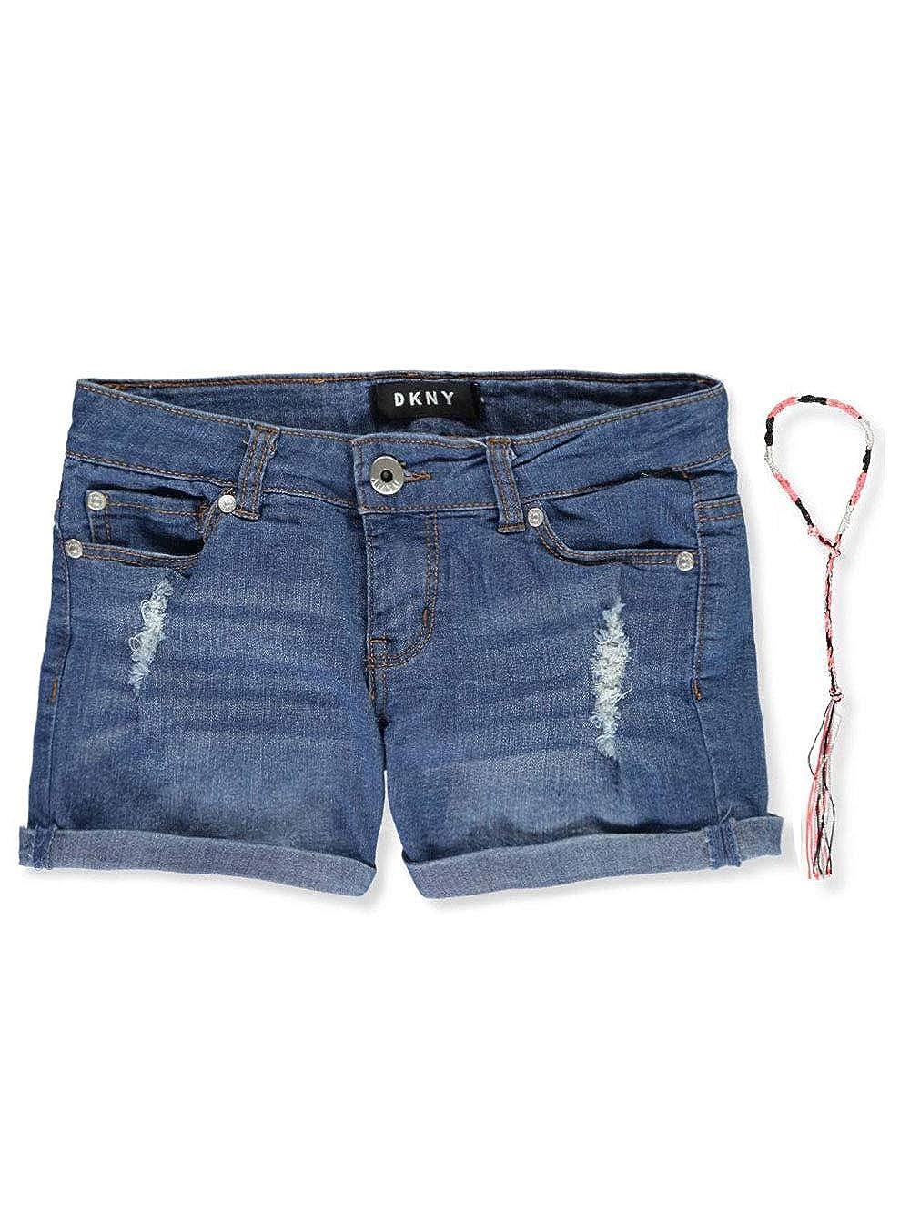 Amazon.com: DKNY - Pantalón corto para niña (diseño vaquero ...