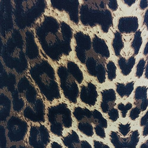 Hell Bunny Panthera Leopard Print Tight Fitted Wiggle Pencil Vintage 1950s  Skirt  Amazon.co.uk  Clothing 73980d373