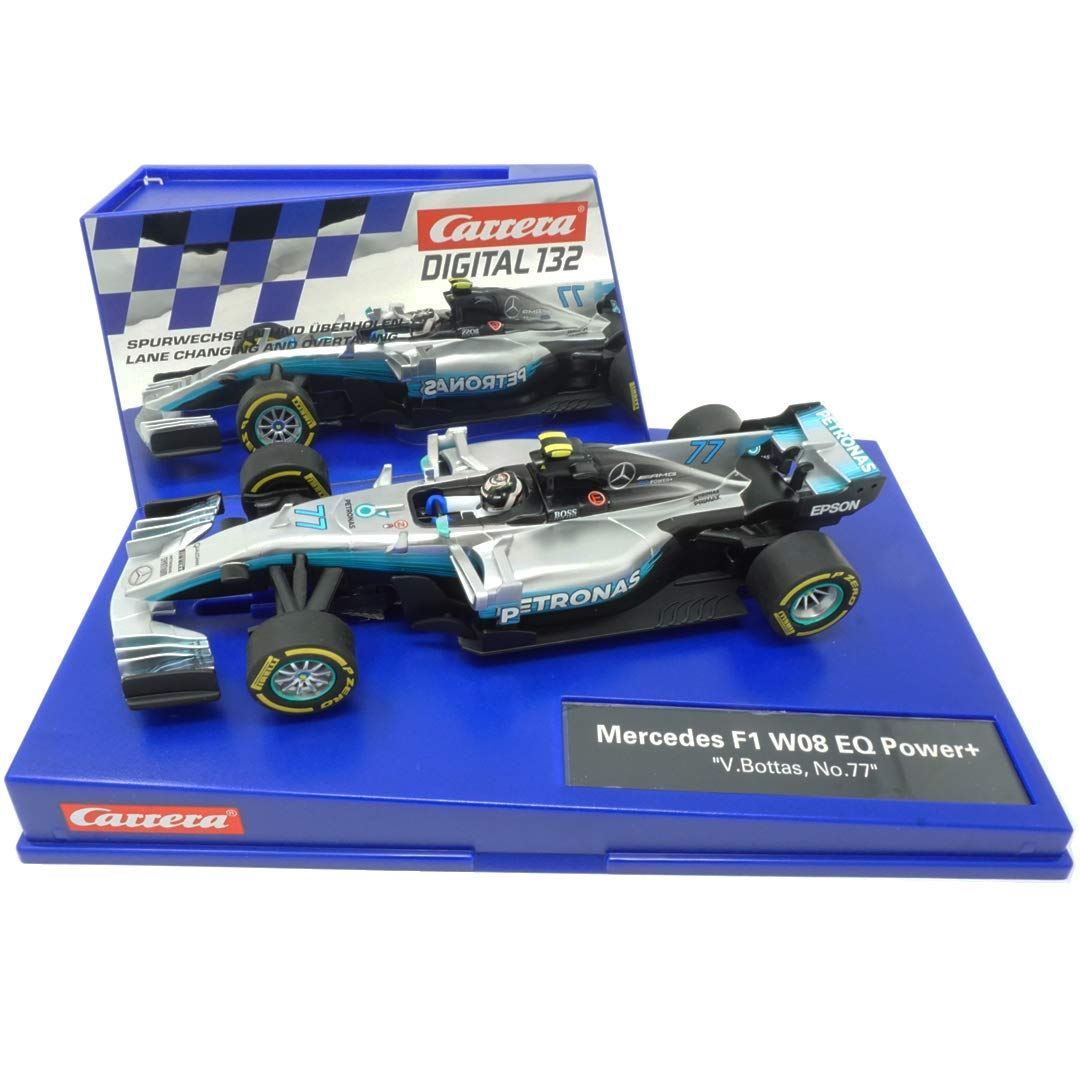 Carrera Digital 132 Mercedes F1 W08 EQ Power Plus V.Bottas Nummer 77