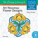 Art Nouveau Flower Designs, Polly Pinder, 1844488411