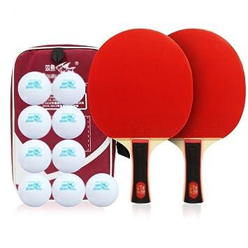 xianw Ping Pong Paleta Set - Juegos de Raqueta de Tenis de Mesa ...
