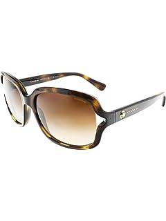 9f7ea3635c Amazon.com  Coach 8131 5281 13 Tortoise Brown Sunglasses 58mm  Clothing