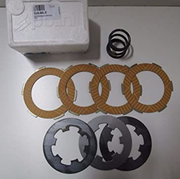 Kit Discos Embrague Polini Racing modifica a 4 con Resorte para Vespa 50 PK: Amazon.es: Coche y moto