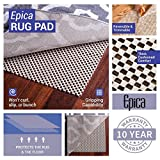 Epica Super-Grip Non-Slip Area Rug Pad 5 x 8 for
