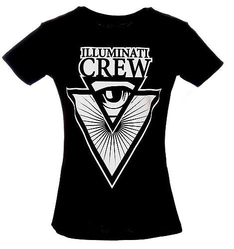 T-Shirt Maglietta Illuminati Crew - Italian Youtuber