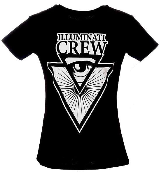 Maglietta Shirt YoutubersNero Illuminati Crew Italian T TJcF3K1l