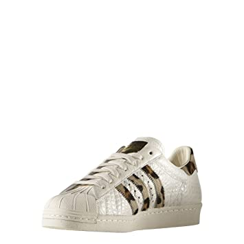 Adidas Originals SUPERSTAR 80s ANIMAL White
