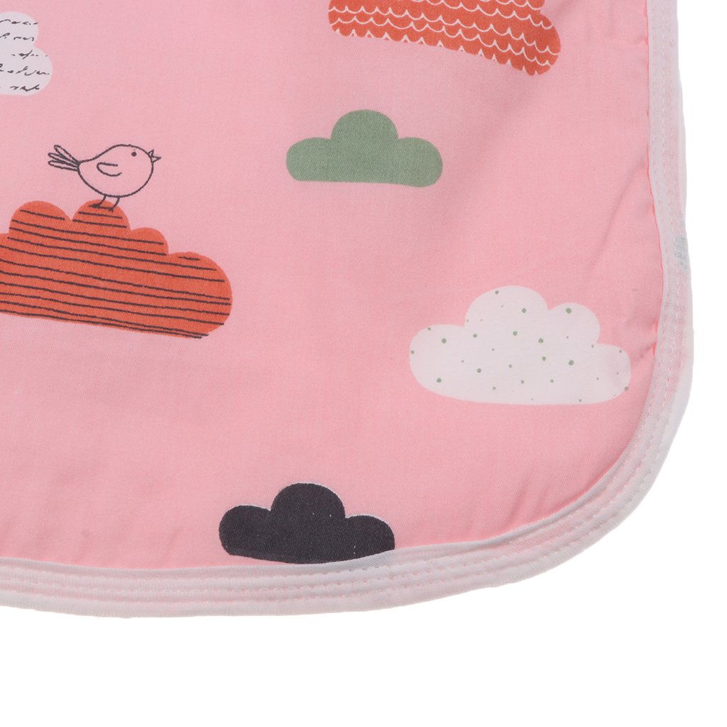 50x70cm Baoblaze Waterproof Baby Diaper Changing Mat Travel Home Washable Diaper Changing Pads Cloud