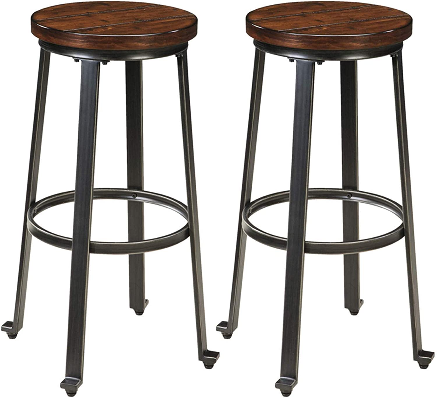 buy round backless bar stool online