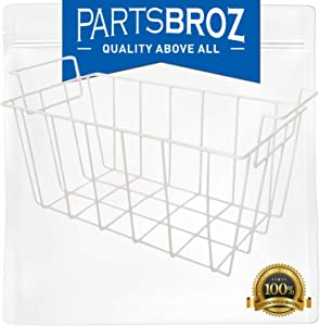 WR21X10208 Basket by PartsBroz - Compatible with GE Freezers - Replaces RF-0300-29, 1535717, AH2356327, EA2356327, PS2356327, RF-0300-20, WR21X10157, WR71X27815