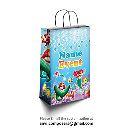 Personalised Paper Bags / Return Gift Bags Party Decorations / Supplies for Birthday / Baby Shower
