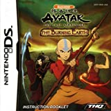 Avatar The Last Airbender - The Burning Earth DS Instruction Booklet (Nintendo DS Manual Only) (Nintendo DS Manual)