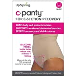 UpSpring C-Panty High Waist C-Section Support, Recovery & Slimming Panty with C-Section Scar Healing - OBGYN Recommended