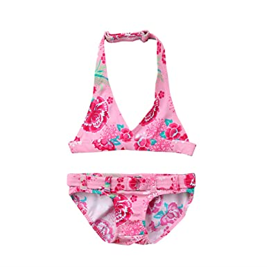9110a62b8 Amazon.com  West Sweety Summer Cute Baby Girls Two-Piece Bikini Set ...