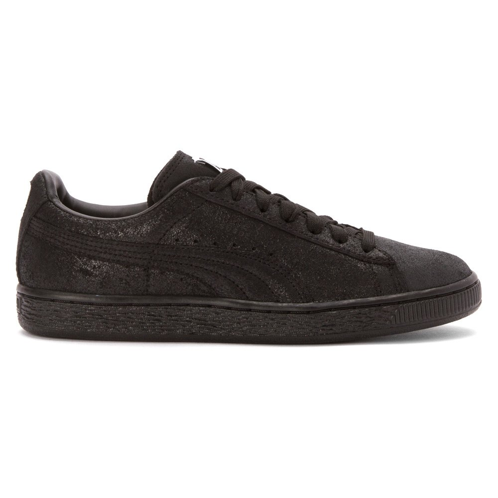 stable quality huge discount exquisite design PUMA Women's Suede Classic + Matte & Shine Sneaker Black 5.5 M ...