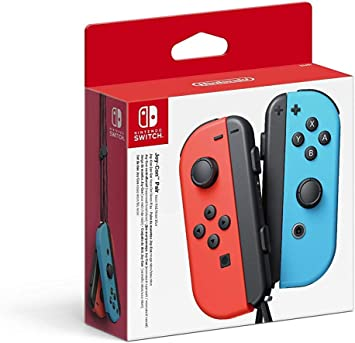 Nintendo - Mando Joycon Set, Color Azul Y Rojo (Nintendo Switch ...