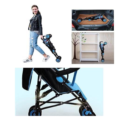 YXINY cochecito de bebé cochecito de paseo, silla de paseo, silla de paseo para cochecito de bebé portátil ultraligero de 1 a 3 años de edad, ...