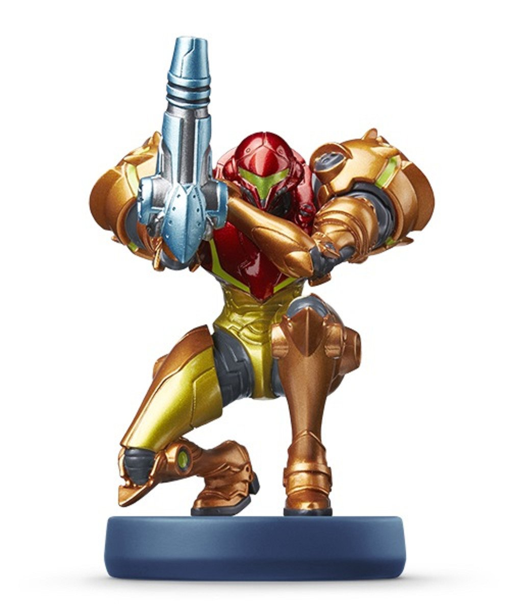 Amiibo Samus Aran (Metroid series) Japan Import