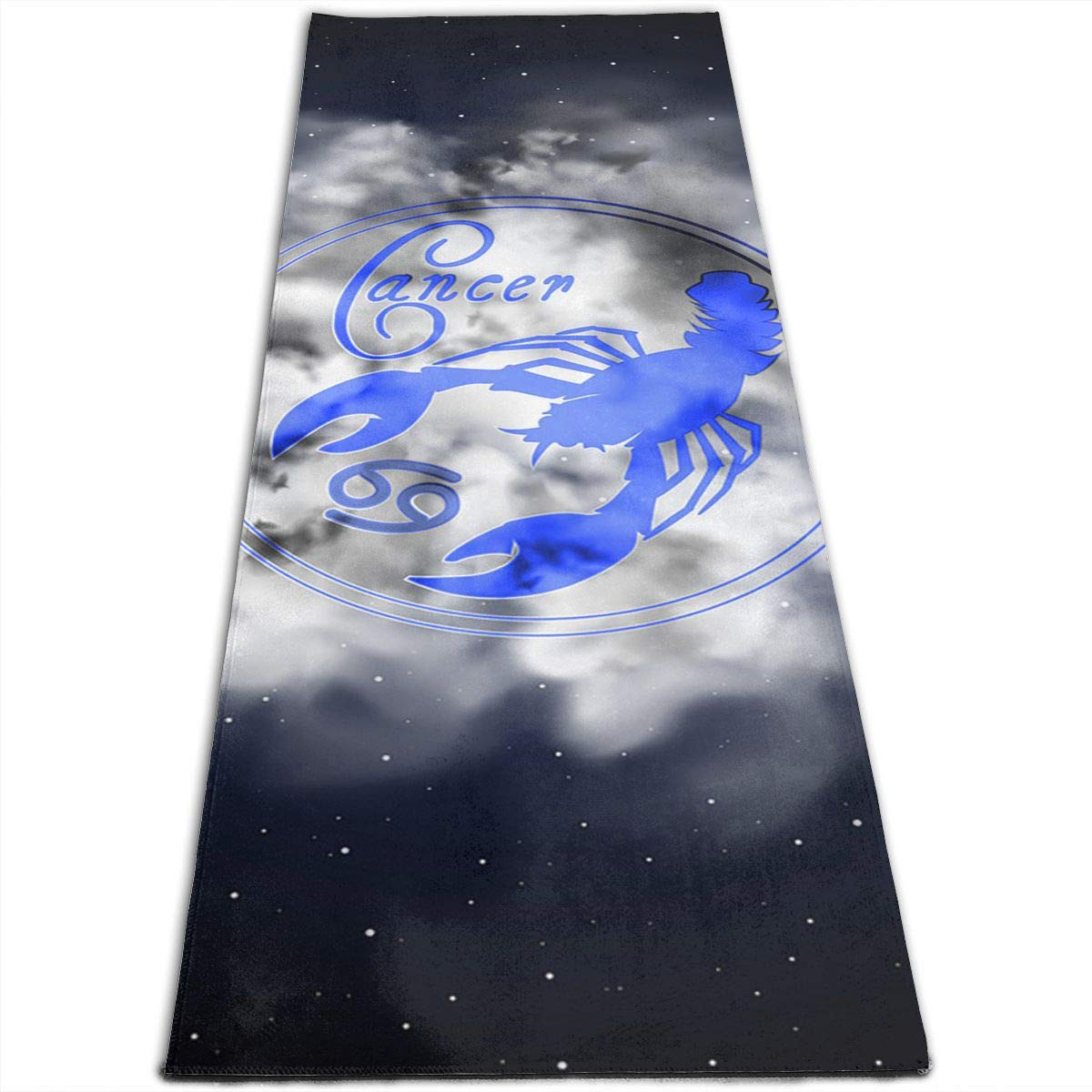 Amazon com: Jessent Yoga Mat Non Slip Cancer Astrology 24 X 71