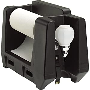 Cambro HWAPR-110 Handwashing Station with Paper Towel Roll Dispenser, Black