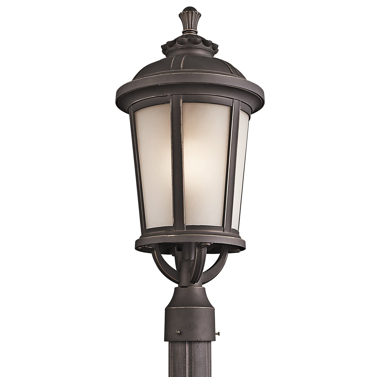 Kichler 49413RZ One Light Outdoor Post Mount