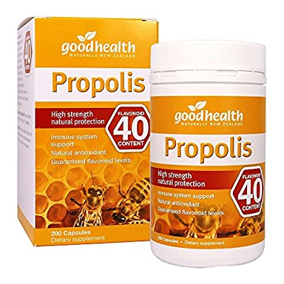 GoodHealth Propolis Flavonoid 40mg 200 Capsules High strength natural protection immune system support Natural antioxidant