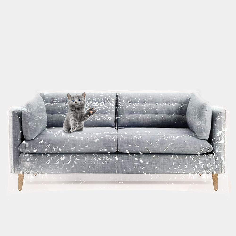 Cool Details About Rhf Plastic Couch Cover Kitty Cat Protector Couch Cover For Pets Cat Scratch Onthecornerstone Fun Painted Chair Ideas Images Onthecornerstoneorg