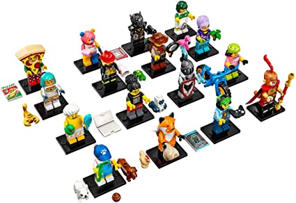 LEGO Series 19 Collectible Minifigures FREE SHIP 71025 Complete Set of 16