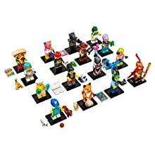 LEGO Series 19 Collectible Minifigures Complete Set of 16 (71025)