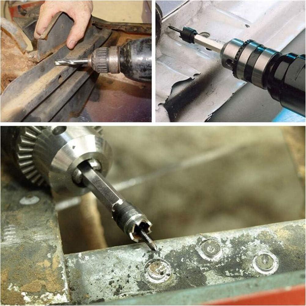 13 pezzi fresa per saldatura a punti 3//8 Hss doppio lato rotativo pannelli di rimozione perforazione