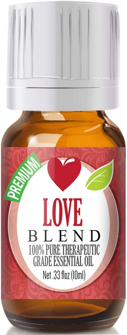 Love Blend Essential Oil - 100% Pure Therapeutic Grade Love Blend Oil - 10ml