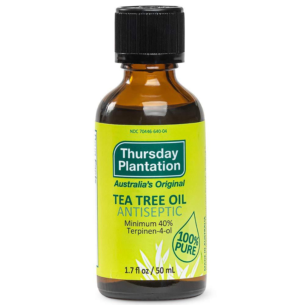 Thursday Plantation Australian Tea Tree Oil, Naturally Sourced Oil, Cleanses and Purifies, 1.7 fl oz
