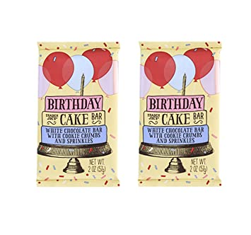 Amazon Trader Joes Birthday Cake Flavor Popcorn Bars 2 Pack