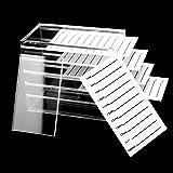5 Layer Clear Acrylic False Eyelash Case Lash Display Organizer Grafting Eyelash Extension Tool