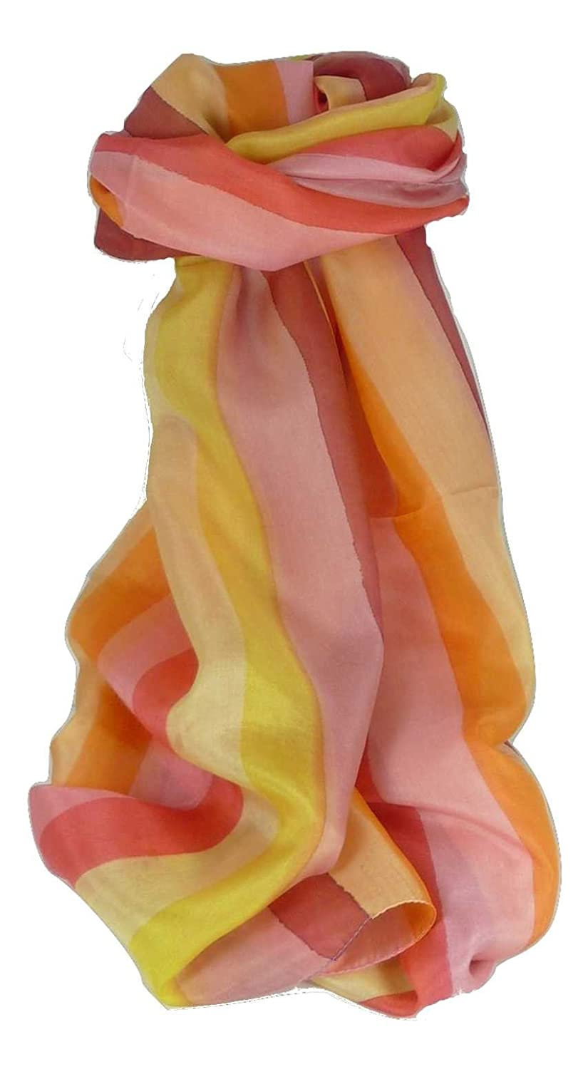 06c6bb5d Mulberry Silk Classic Long Scarf Kara Rainbow Palette by Pashmina & Silk at  Amazon Women's Clothing store: