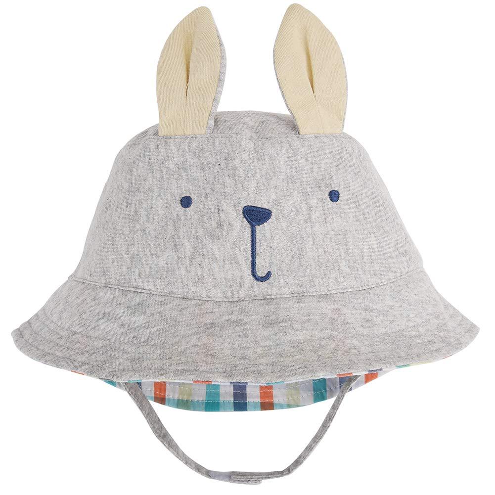Aablexema HAT ユニセックスベビー 46cm(18.1\ Light Grey Rabbit B07P7FHJ69