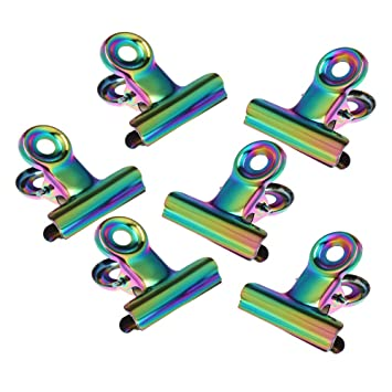ca869030eaa9a Anself 6pcs Nail Pinching Clips Manucure Outil C-courbe Nail Pinching Clips  Acrylique Ongles Pincher Nylon Pinching Outil